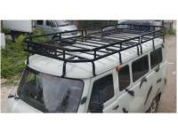 Багажник Викинг на УАЗ 452, 16 опор, двухсекционный