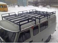 Багажник Круиз на УАЗ 452, 3 секции