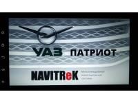 Автомагнитола Navitrek NT-178/102 UP Android для УАЗ Патриот (2013-2019)